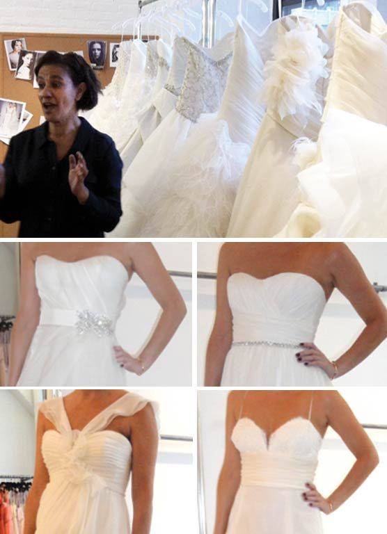 12 to 2013: Day 3 Nouvelle Amsale Wedding Gowns