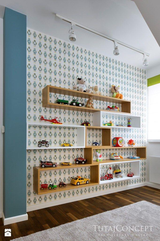 Realizacja I - Średni pokój dziecka dla chłopca dla malucha, styl nowoczesny - zdjęcie od TutajConcept