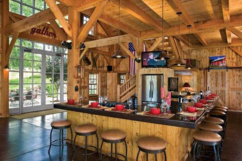 converted barns to homes | imber Barn House Conversion to Beautiful Home in Colorado, USA. This ...