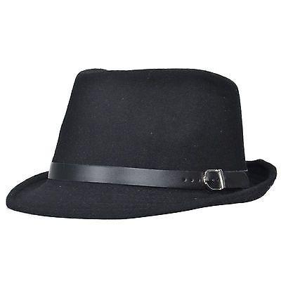 Summer Men's Beach Trilby Fedora Straw Panama Wide Brim Beach Cap Sun Hat