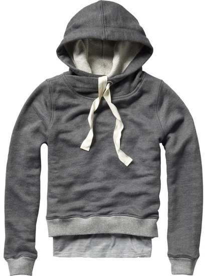 Kind of obsessed with this cozy sweatshirt, though at $150, it's a tad too expensive for my taste.