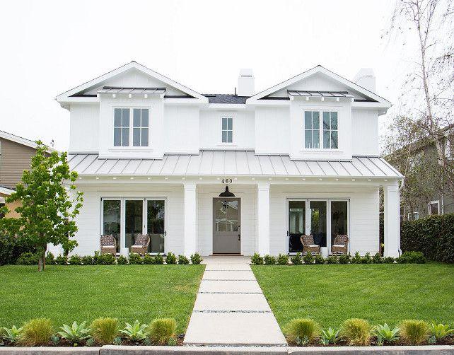 17 Best Ideas About White Farmhouse Exterior On Pinterest
