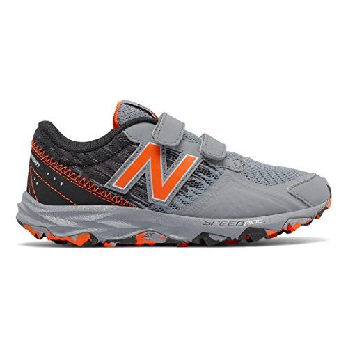 New Balance KT690 Trail Shoe (Little Kid/Big Kid), Green, 28 M EU