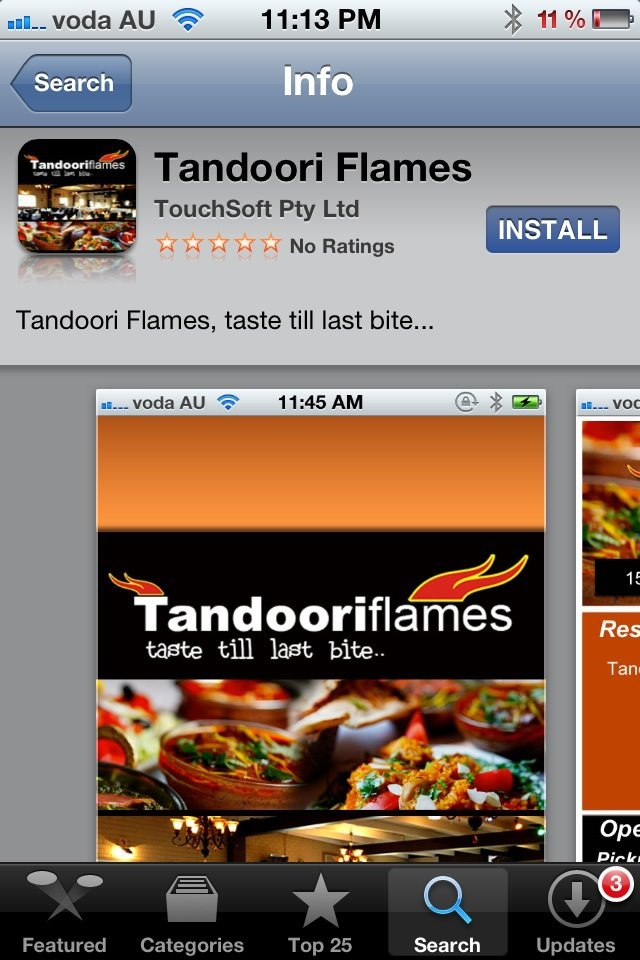 LIve music performance @ Tandoori. Flames every Friday from 8 pm till 11 pm.