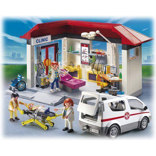Playmobil 5012 - Jeu de construction - Clinique Ambulance... https://www.amazon.fr/dp/B0049WDSUO/ref=cm_sw_r_pi_dp_x_Ftkayb5AA9A8T