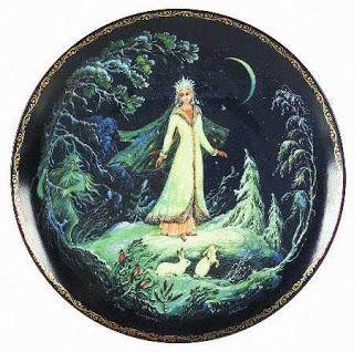 Pythia's Nieuwtjes: Snegurochka, een Russisch sprookje