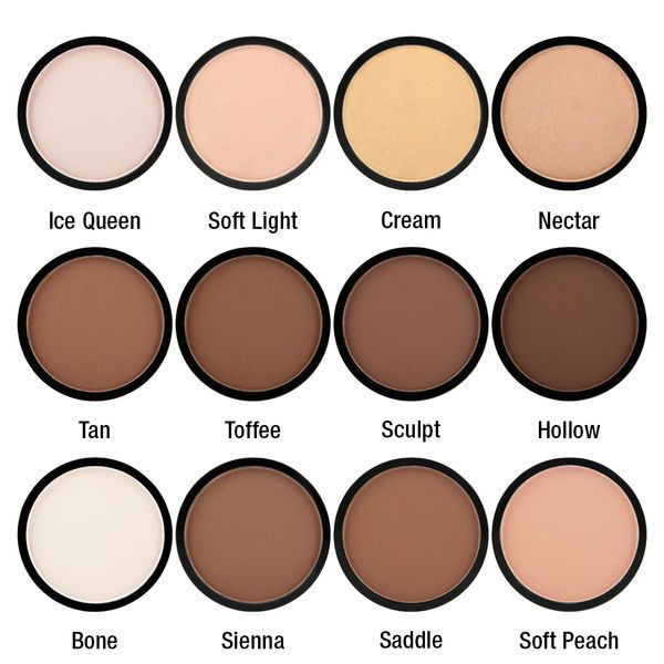 Nyx Highlight & Contour Pro Singles - I adore these!!! I have nectar, sienna and soft spoken in my own custom palette :)