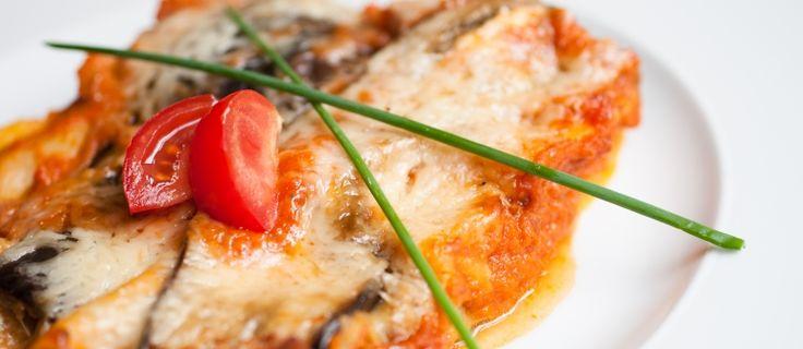 lasagna met geitenkaas en spinazie recept