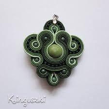 Image result for soutache pendant                              …