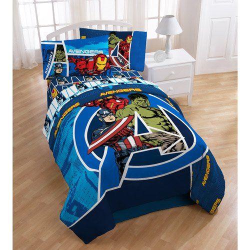 Avengers bedding and bedroom decor bedroom theme pinterest marvel avengers movies - Avengers bedroom ...