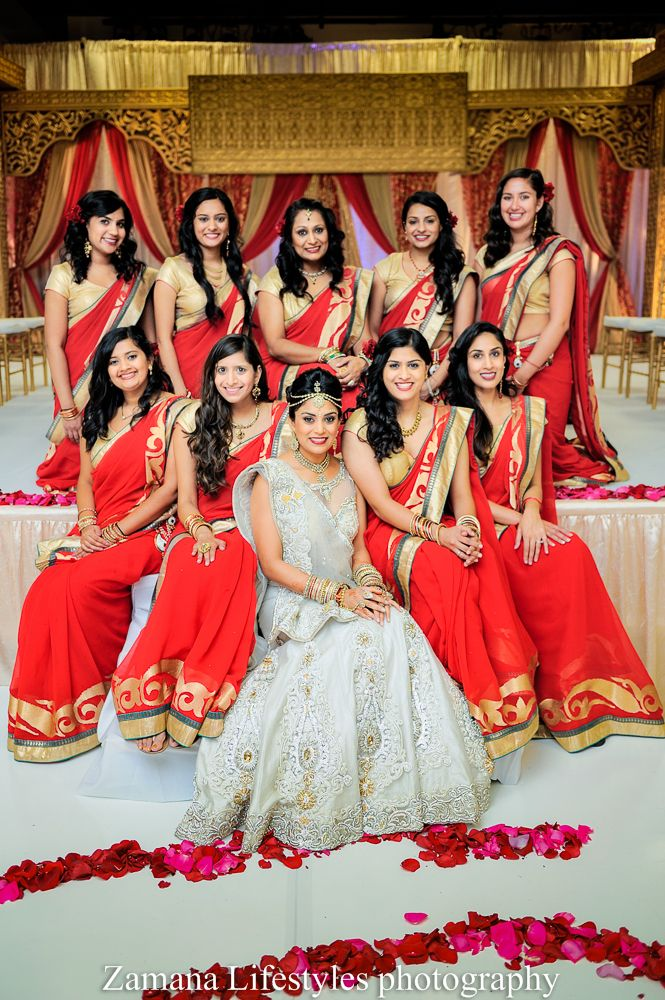 Wedding Of Sonya Sreyas Photography By Zamana Lifestyles And Cinematography Part 1 Indian Bridesmaid DressesRed