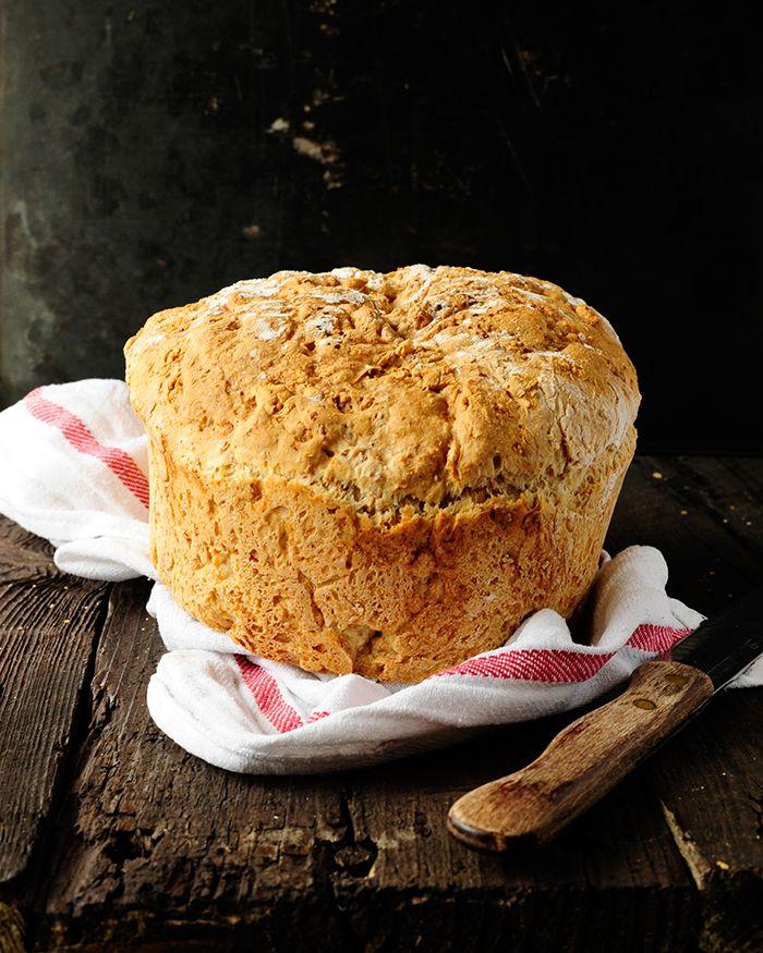 Volkoren brood zonder kneden