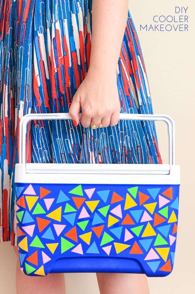 Be the hit of any summer picnic with this DIY cooler makeover!