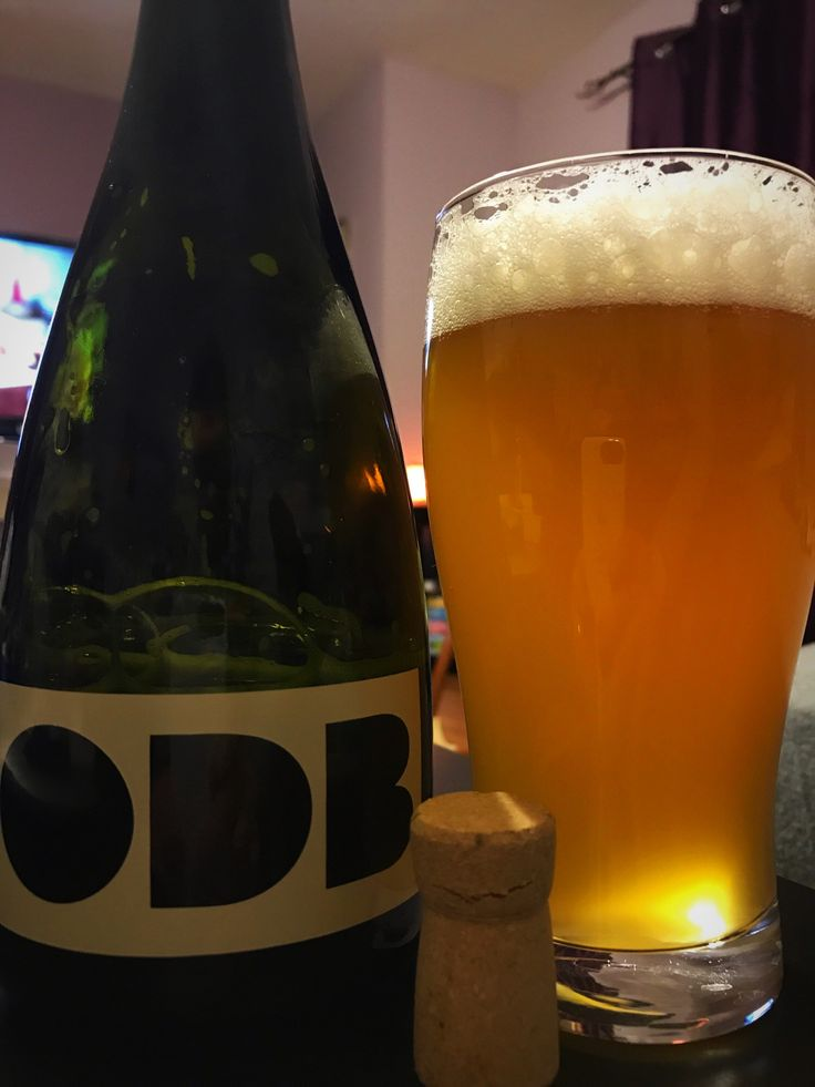 This incredible saison is so complex that the tasting notes change with every sip. It is at the same time tropical, hoppy, floral, funky, tart, sweet, and balanced.