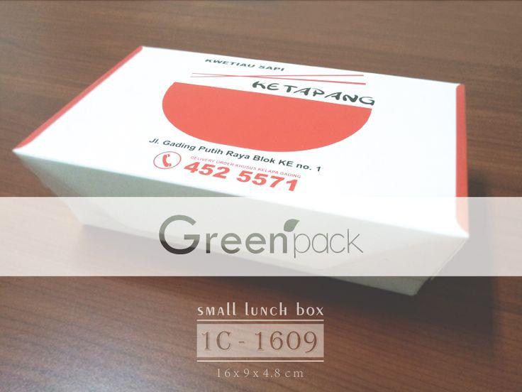 Jasa Pembuatan Box Makanan Food Grade, Gambar di atas merupakan Box Makanan Kwetiau Sapi Ketapang menggunakan Box Makanan Greenpack. Info Pembuatan dapat mengunjungi : http://www.greenpack.co.id/