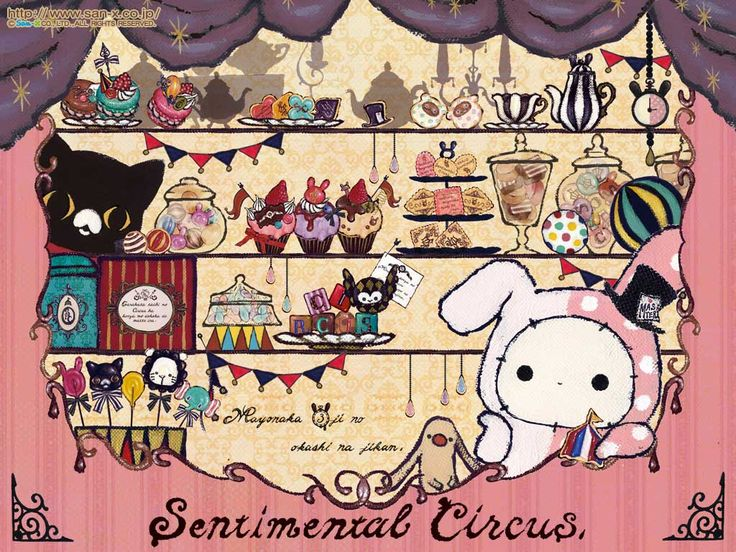 Kawaii Sentimental Circus Wallpaper,