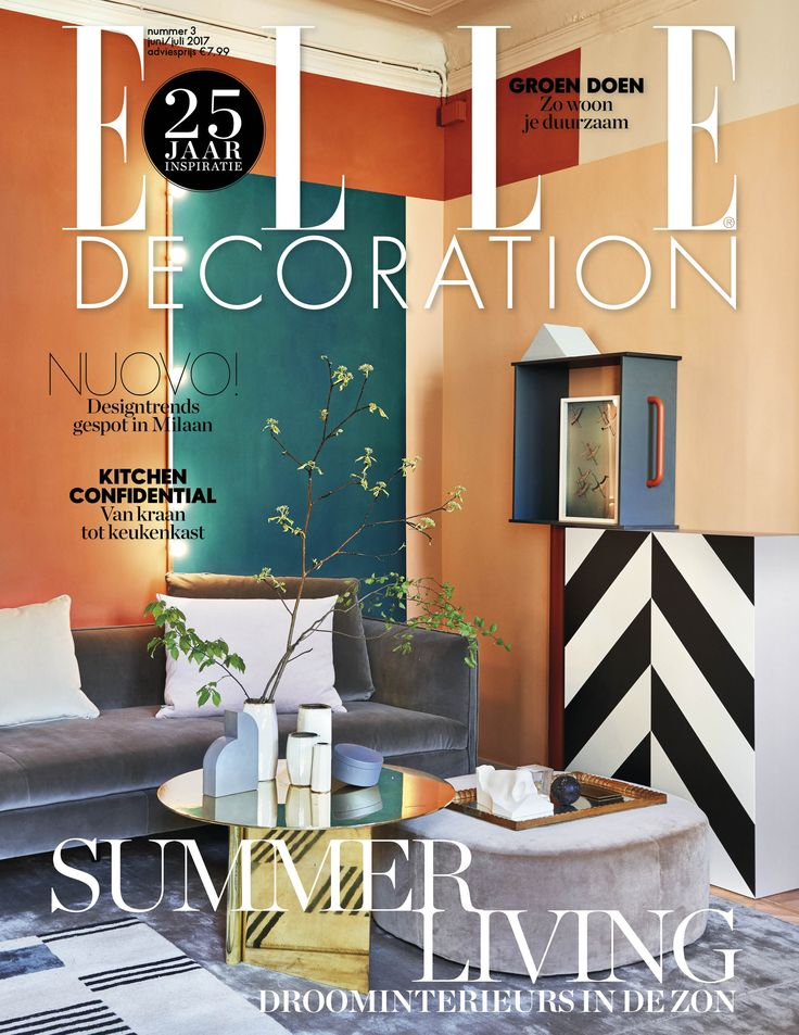 30 besten Covers | ELLE Decoration NL Bilder auf Pinterest