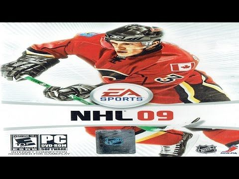 NHL 09 Windows Vista Gameplay (EA Sports 2008) (HD) - YouTube