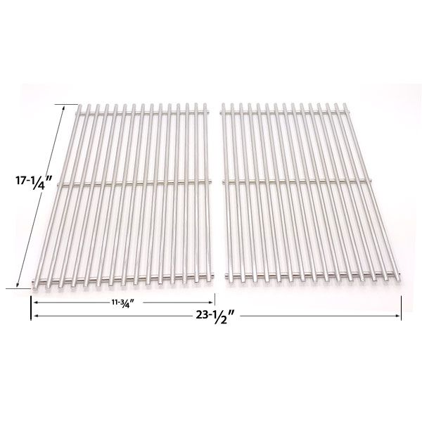 2 Pack Heavy Duty Stainless Steel Cooking Grate For Weberspirit E 310 Spirit Sp 310 Spirit 700 Genesis Silver B Grill Parts Gas Grill Bbq Parts