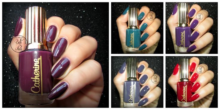 Betty Nails: Catherine Charleston Collection - Collection Review and Swatches