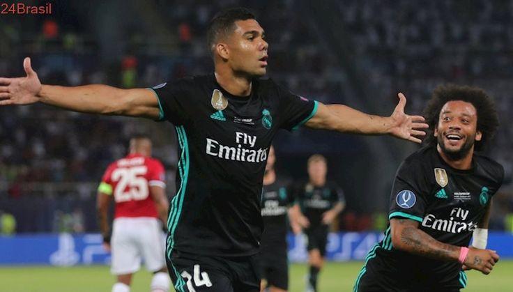 O ano muda, os títulos continuam: Com gol de Casemiro, Real vence United e leva Supercopa da Europa