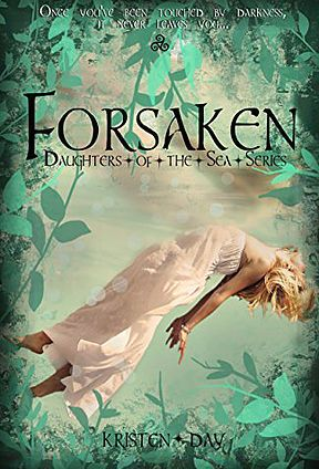 Forsaken by Kristen Day Rated: 10+ Once you've been touched by darkness, it never leaves you… Abandoned by her parents as an infant; seventeen year old Hannah spent her childhood wading through countless foster families until being adopted by the Whitmans three years ago. Unfortunately, Atlanta's high society wasn't quite ready for Hannah…or the strange events that plague her Chilling visions of murder, unexplained hallucinations, and a dark, mysterious guy who haunts her nightmares...