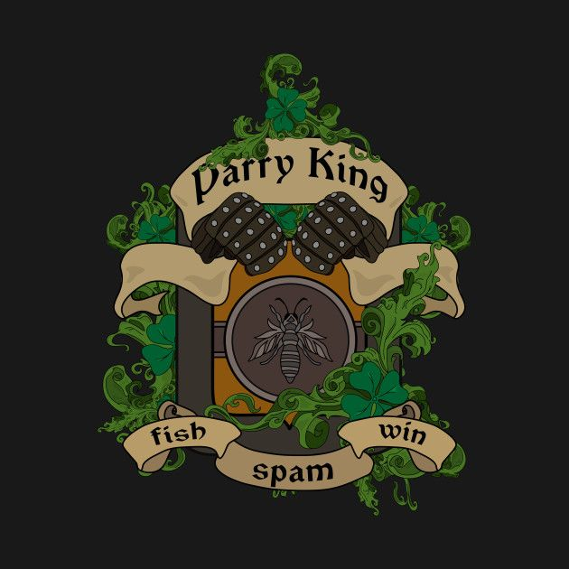 Check out this awesome 'Parry King Crest' design on @TeePublic! #darksouls
