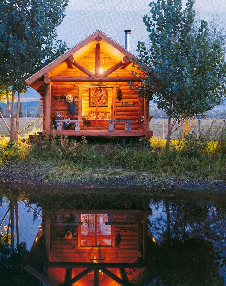 17 best images about log cabins on pinterest one room for Cabin builders montana