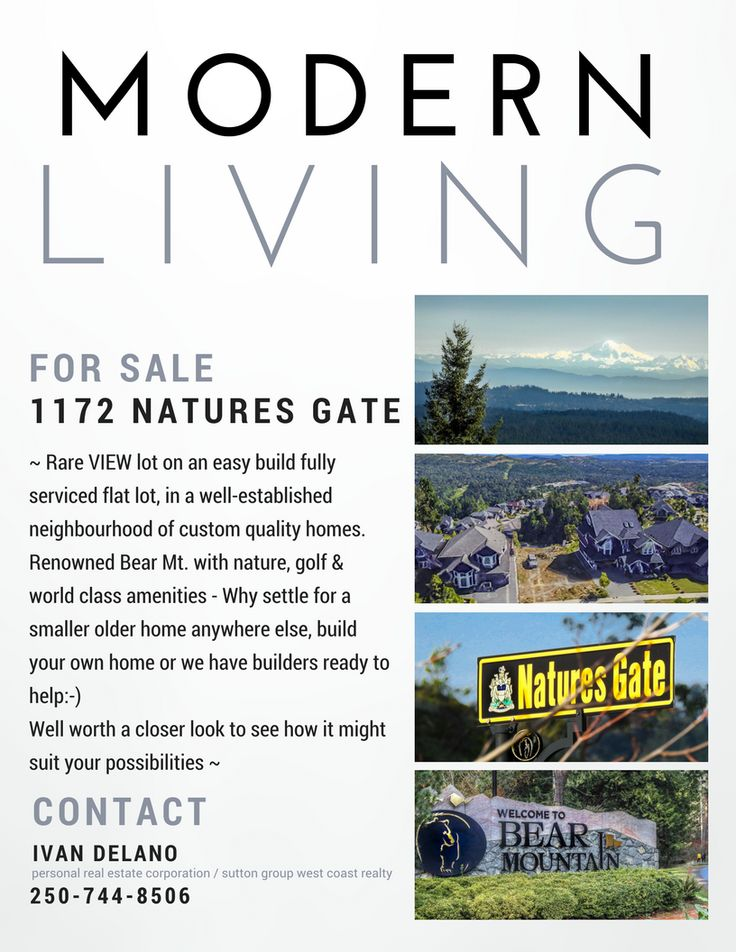 Rare VIEW lot on an easy build fully serviced flat lot, in a well-established neighbourhood of custom quality homes. Renowned Bear Mt. with nature, golf & world class amenities - Why settle for a smaller older home anywhere else, build your own home or we have builders ready to help:-) Well worth a closer look to see how it might suit your possibilities ~ Call  Ivan Delano 250-744-8506 personal real estate corporation sutton group west coast realty