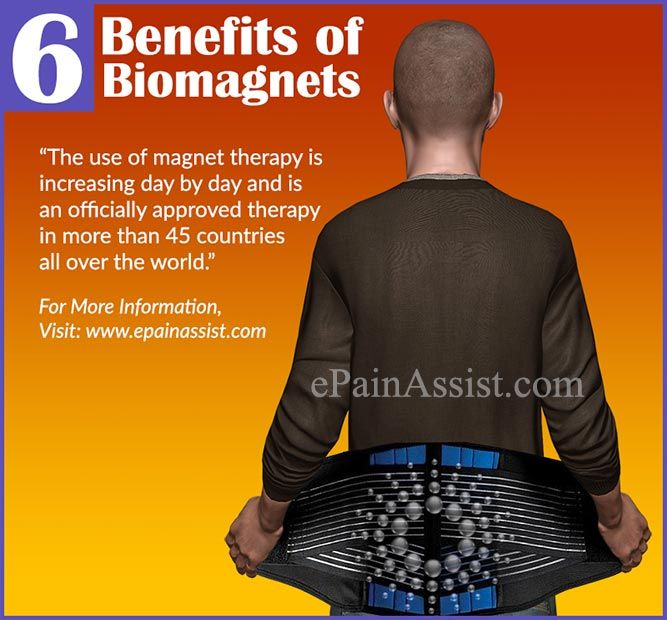 6 Benefits of Biomagnets Read: http://www.epainassist.com/alternative-therapy/magnet-therapy-and-6-benefits-of-biomagnets-magnetic-therapy-or-magnotherapy