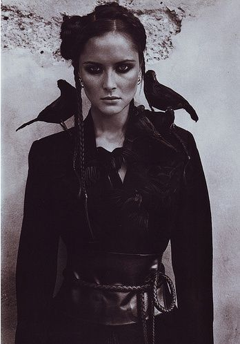Crows Ravens:  Well-dressed for the Apocalypse...