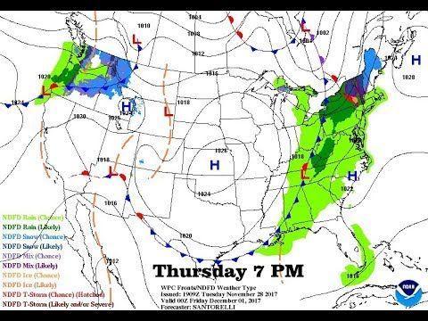 ASMR Weather Forecast Wednesday Nov 29/Tropical Update