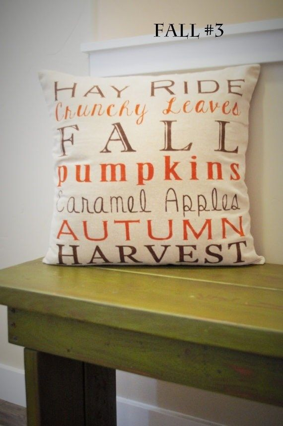 Must Have Fall Pillow Covers | $10.99 on Jane.com