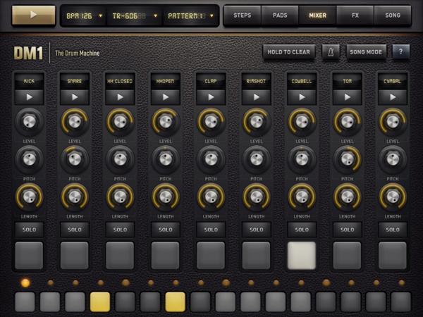 DM1 - The Drum Machine by Jonas Eriksson, via Behance
