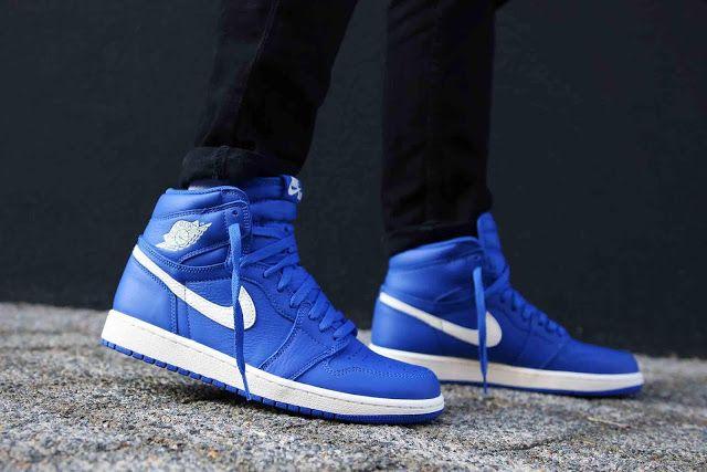 First Look Nike Air Jordan 1 Hyper Royal Air Jordans Sneaker