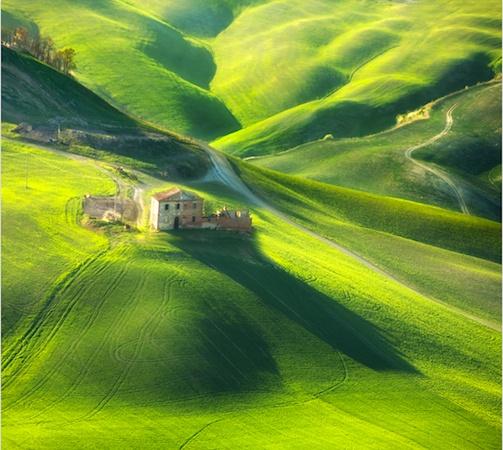 La bellezza immobile dei paesaggi