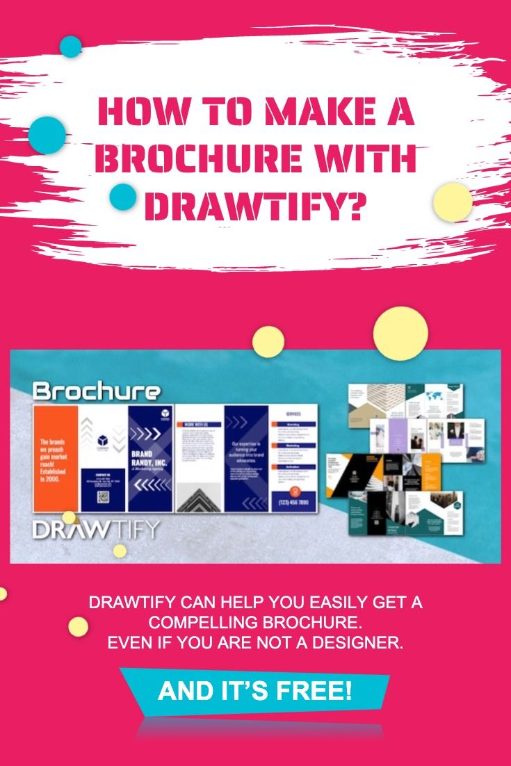 How To Make A Brochure How To Make Brochure Create A Brochure Brochure