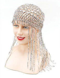 SIlver-Bead-Head-Dress-Headress-Cleopatra-Egyptian-Fancy-Dress