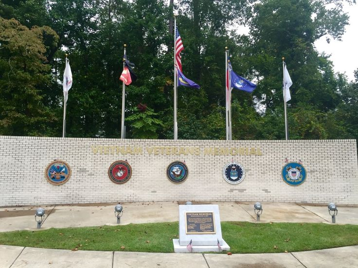 Vietnam Memorial in Jacksonville, North Carolina