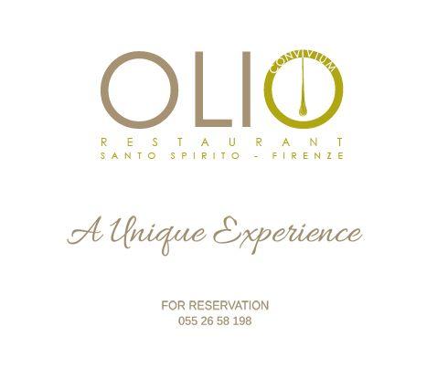 Olio restaurant - Florence, Italy