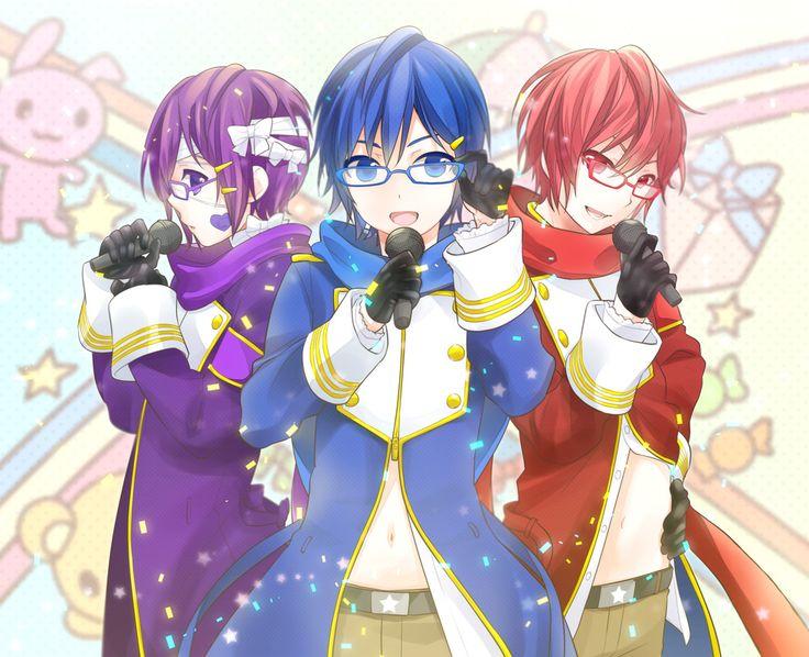 Taito, Kaito, Akaito - 3 Shion brothers | Vocaloid ...