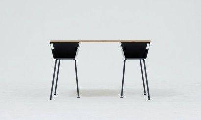 Plygon work table Grey