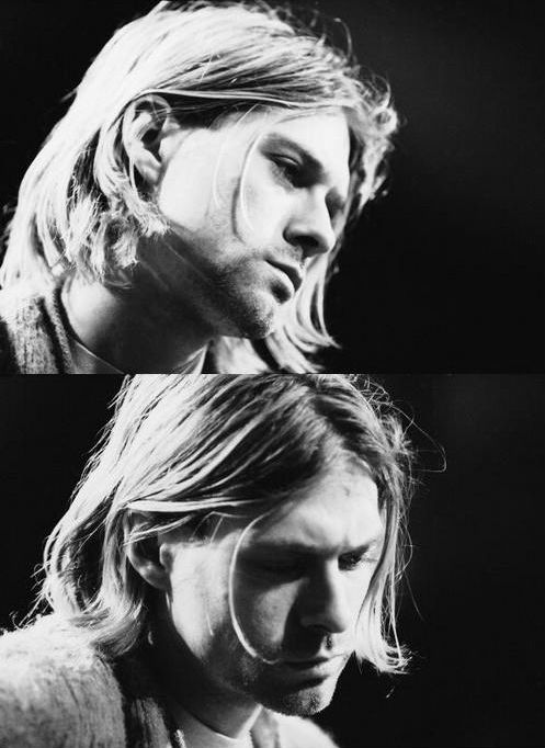 Remember my friend with sad eyes, the anniversary of Nirvana singer Kurt Cobain's death... [5/4/1994] :(