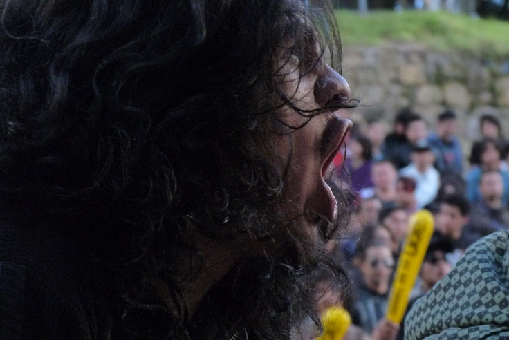 """asistente festival """"Rock al parque"""" Bogotá, Colombia"""