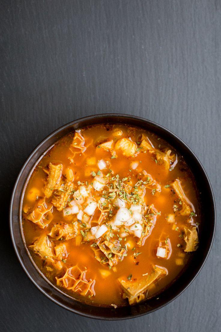 Mexican Tripe Soup (Pancita/Menudo)   The Domestic Man