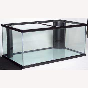"Perfecto 200-Gallon 48""Lx36""Wx27""H Deep Starphire Overflow Glass Fish Tank APF97044 @ Fish Tanks Direct"