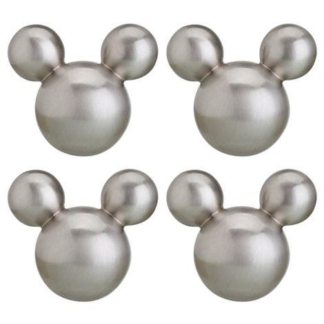 Icon Mickey Mouse Knob Set | Kitchen Essentials | Disney Store ...
