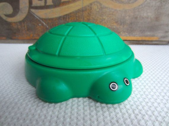 8377c1bc78 Vintage Little Tikes Green Turtle Sandbox Dollhouse Toy Accessory   MEMORY  LANE   Dollhouse toys, Vintage, Little tikes