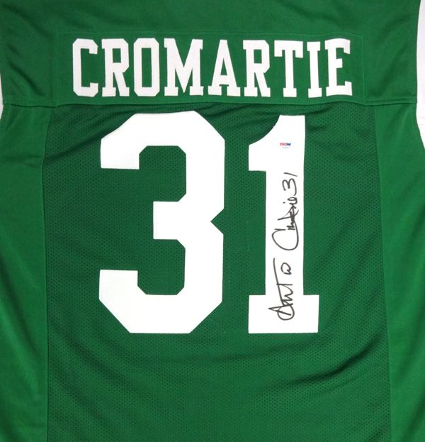 Antonio Cromartie Autographed New York Jets Jersey PSA/DNA