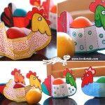 Easter HENS, craft, primary school, chick, knutselen, kinderen, basisschool, Pasen, kip